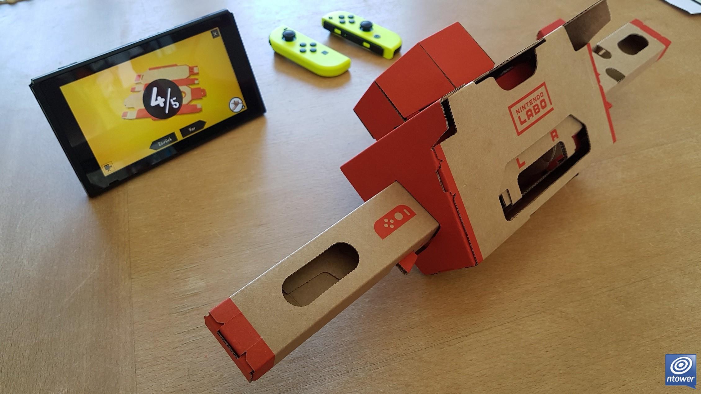 Nintendo Goomba Toys N Joys : Test zu nintendo labo toy con multi kit