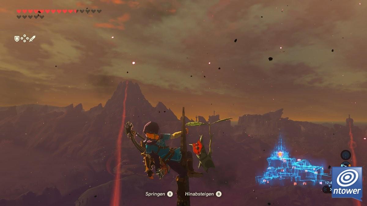 Ein Meisterwerk Zum Eintauchen Wie Ich Mich In The Legend Of Zelda Breath Of The Wild Verlor Ntower Dein Nintendo Onlinemagazin