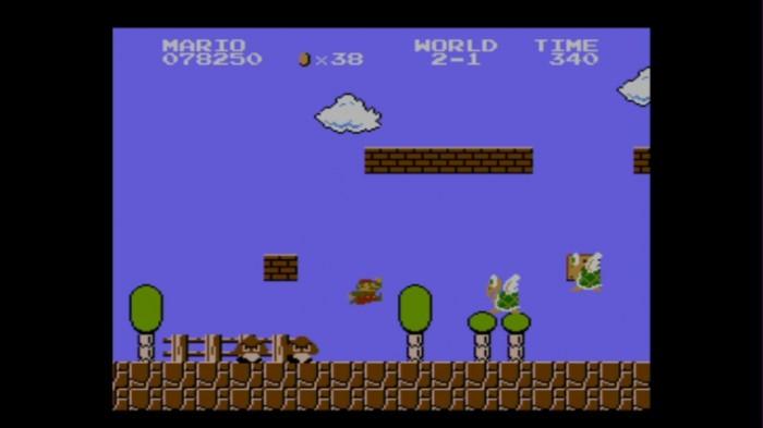 Mario gegen die Übermacht