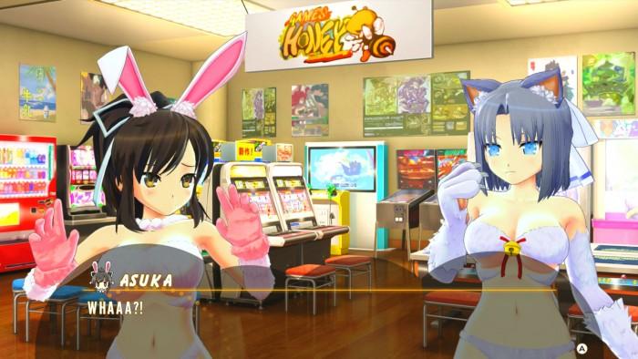 Englischer Screenshot zeigt Interaktion zwischen Charakteren