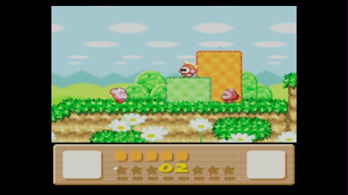 Kirby läuft los