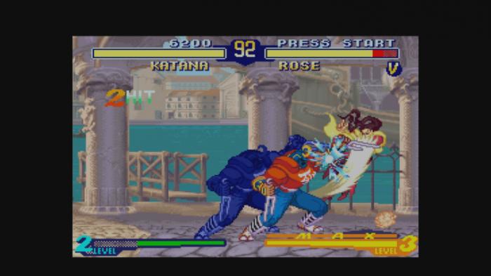 Katana vs. Rose