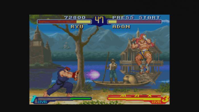 Ryu vs. Gadon