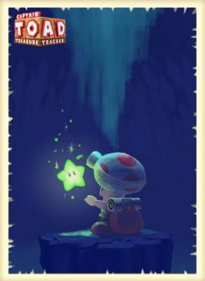 Konzept-Artworks zu Captain Toad: Treasure Tracker für die Nintendo Switch