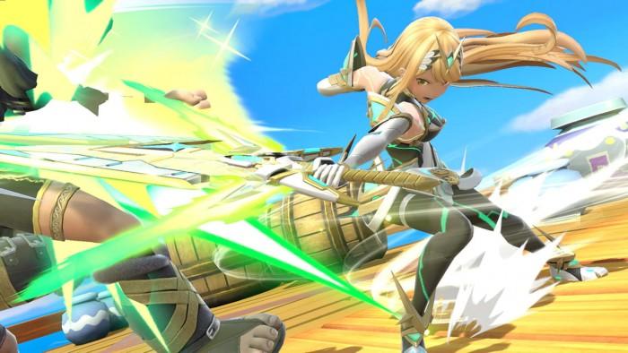 Pyra und Mythra in Super Smash Bros. Ultimate