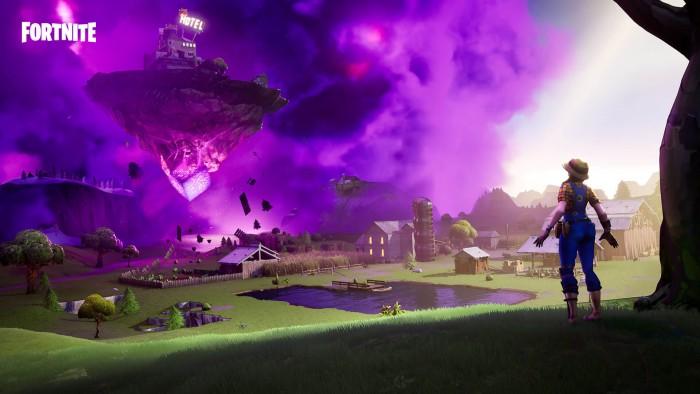 Fortnite Schwebende Insel © Epic Games
