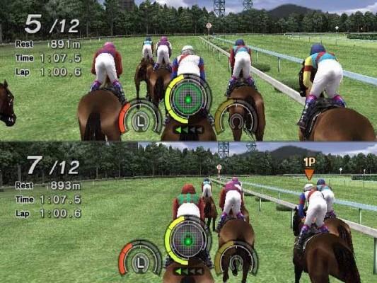 Bild zum Spiel G1 Jockey Wii 2008