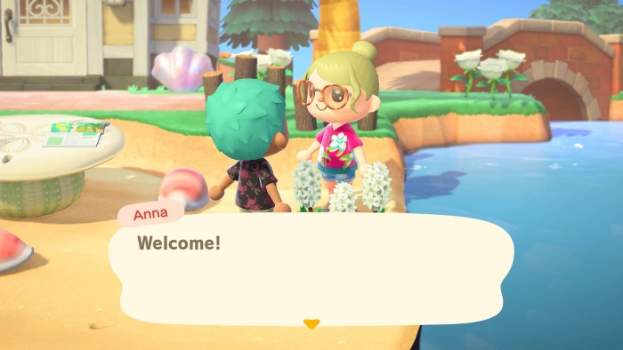 Screenshot aus dem zweiten Sommer-Update von Animal Crossing: New Horizons