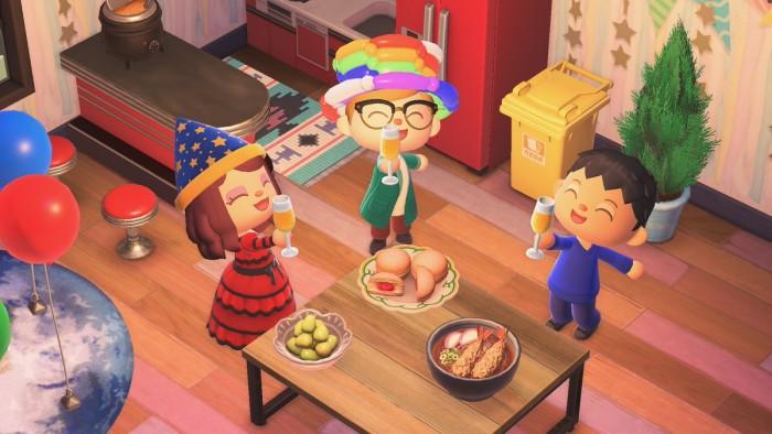 Animal Crossing: New Horizons – Neujahr