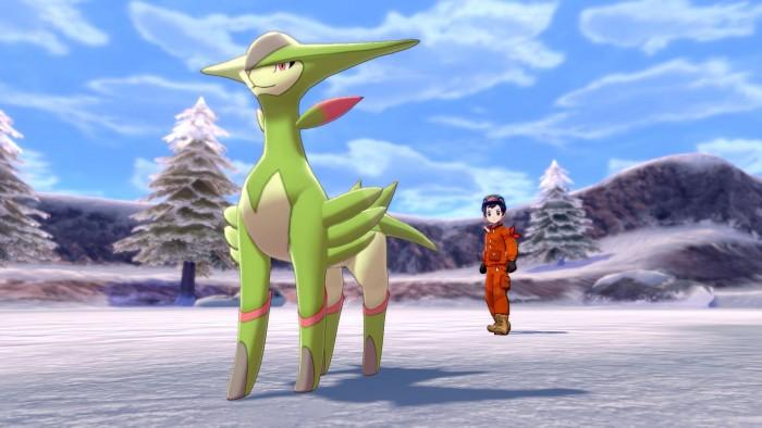 Screenshot von Die Schneelande der Krone aus Pokémon Schwert und Schild