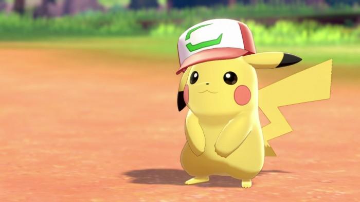 Screenshot zu Ashs Pikachu aus Pokémon Schwert und Schild