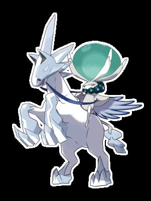 Artwork zu Coronospa (Schimmelreiter) aus Pokémon Schwert und Schild