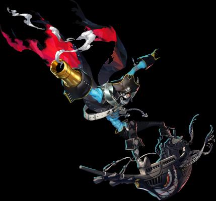 Charakter-Artwork zu Captain Kidd aus Persona 5 Scramble: The Phantom Strikers - © Atlus / SEGA / Koei Tecmo