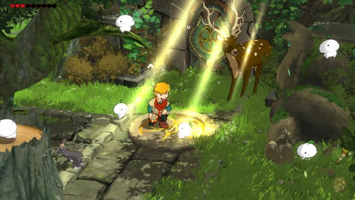 Screenshot von Baldo: The guardian owls