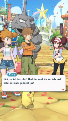Screenshot aus Pokémon Masters