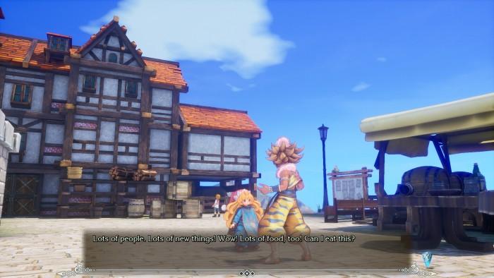 Screenshot Charakter-Interaktion - © Square Enix