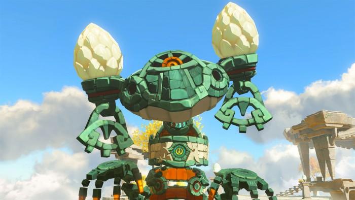 Screenshot vom The Legend of Zelda: Breath of the Wild-Sequel (E3 2021)