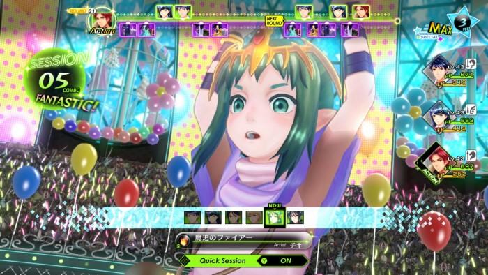 Japanischer Screenshot aus Tokyo Mirage Sessions #FE Encore - © Nintendo / Atlus / Intelligent Systems