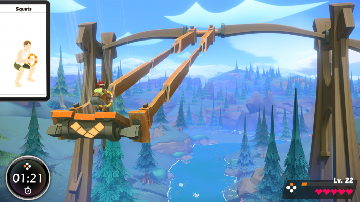 Screenshot aus Ring Fit Adventure - © Nintendo