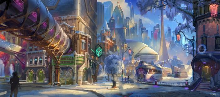 Konzeptzeichnung zu Overwatch 2 - © Blizzard Entertainment