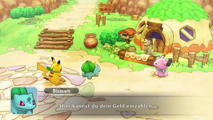 The Pokémon Company veröffentlicht Screenshots zu Pokémon Mystery Dungeon: Retterteam DX für die NIntendo Switch © The Pokémon Company