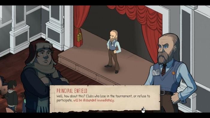 Screenshot zu Wintermoor Tactics Club