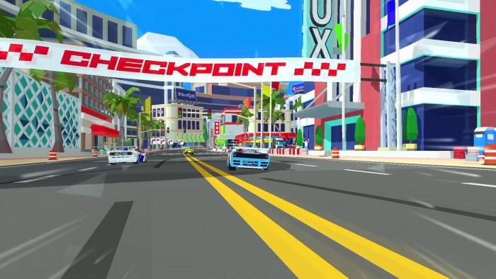 Screenshot vom Spiel Hotshot Racing (Big Boss Bundle-DLC)