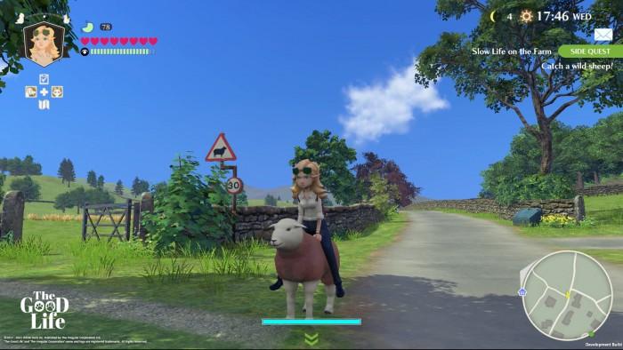 Screenshot vom Spiel The Good Life