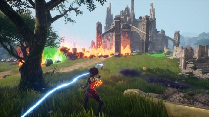 Screenshot aus Spellbreak