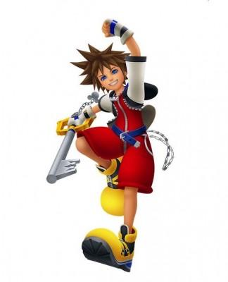 Charakter-Renderer von Sora aus Kingdom Hearts: Melody of Memory
