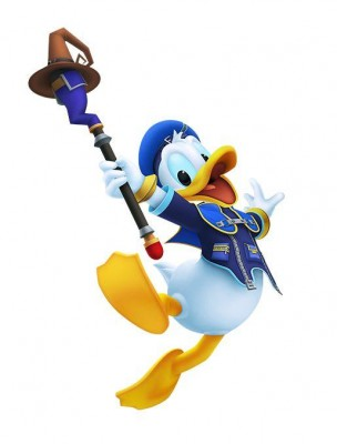 Charakter-Renderer von Donald Duck aus Kingdom Hearts: Melody of Memory