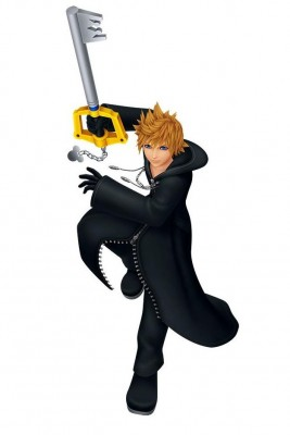 Charakter-Renderer von Roxas aus Kingdom Hearts: Melody of Memory
