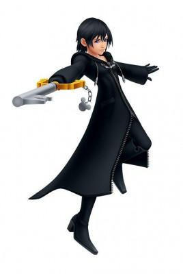 Charakter-Renderer von Xion aus Kingdom Hearts: Melody of Memory