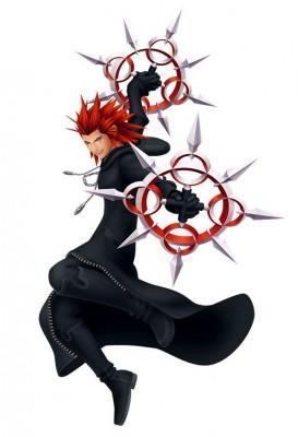 Charakter-Renderer von Axel aus Kingdom Hearts: Melody of Memory