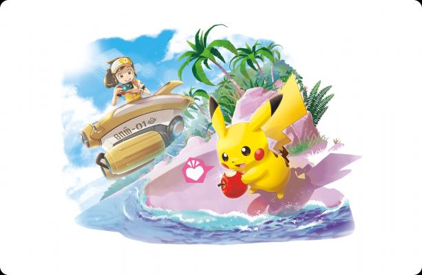 Artwork von New Pokémon Snap