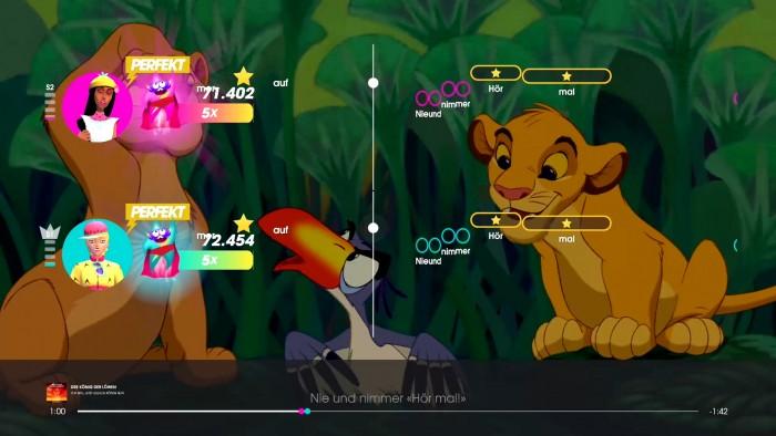 Screenshot vom Spiel Let's Sing 2021