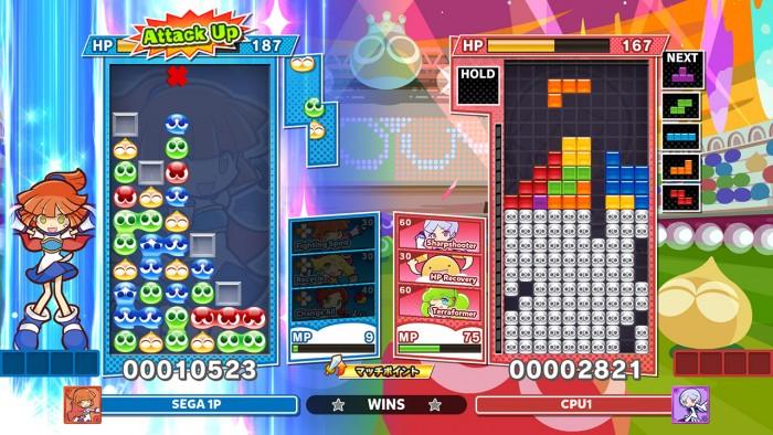 Screenshot von Puyo Puyo Tetris 2