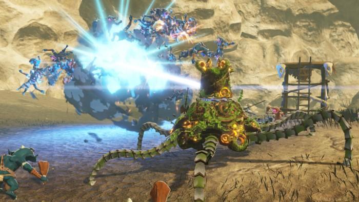 Screenshot vom Erweiterungspass zu Hyrule Warriors: Zeit der Verheerung