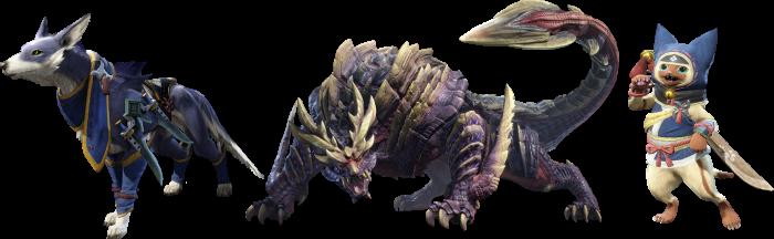 amiibo - Monster Hunter Rise