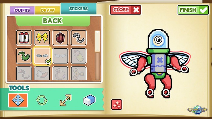 Screenshot vom Spiel Drawn to Life: Two Realms