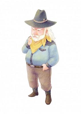 Simon aus Story of Seasons: Pioneers of Olive Town