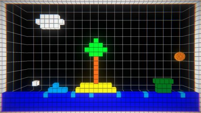Screenshot vom Spiel PING REDUX
