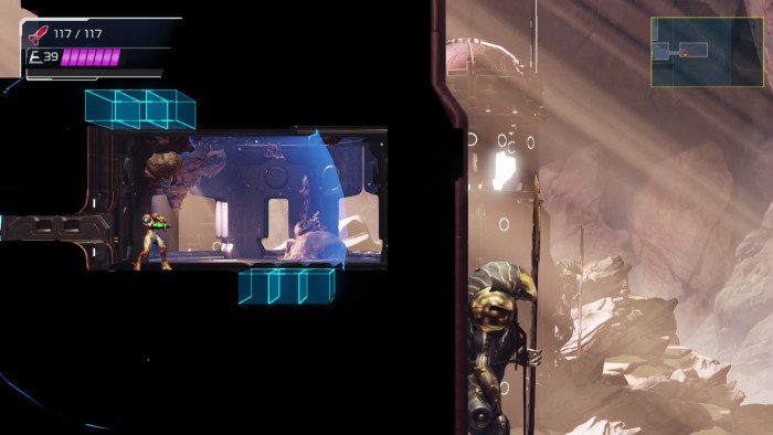 Screenshot von Metroid Dread