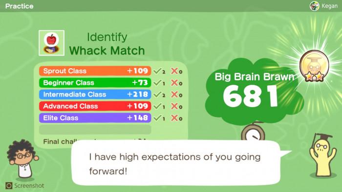 Screenshot von Big Brain Academy: Kopf an Kopf