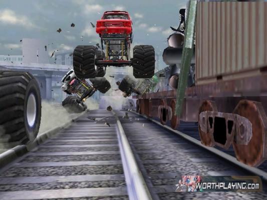 Bild zum Spiel Monster Jam: Pfad der Zerstörung