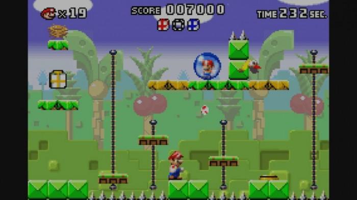 Mario in der Blase