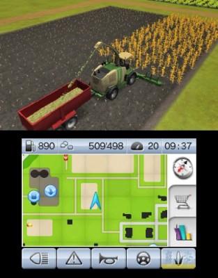 Weg mit dem Getreide, bevor die Aliens mit ihren Kornkreisen kommen!