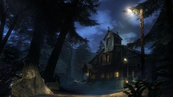 Ein Häuschen der Vampire