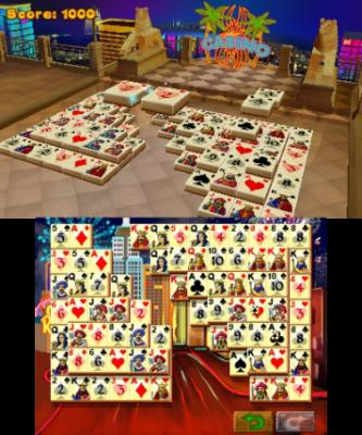 Kartenspiel-Mahjongg