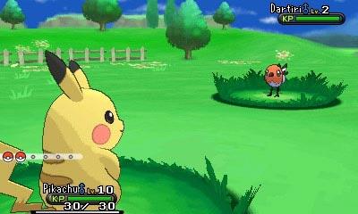 Pikachu vs. Dartiri